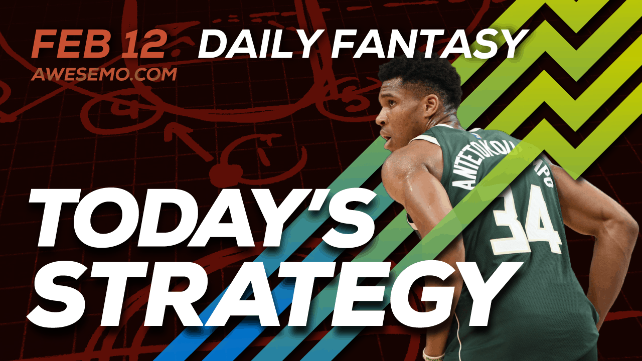 FREE Awesemo YouTube NBA DFS picks & content for daily fantasy lineups on DraftKings + FanDuel including Giannis Antetokounpo and more!