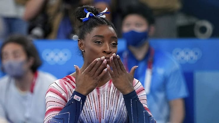 """Simone Biles had an interview on """"TODAY"""" where she opened up about her current mental state after her experience at the Tokyo Olympics"""