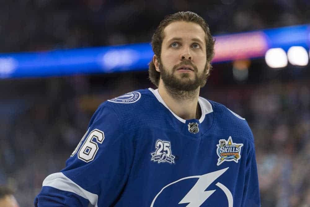 Chris Wassel breaks down his top 3/12/20 NHL DFS picks and stacks on DraftKings and FanDuel, including Nikita Kucherov and more!