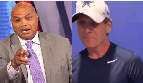 TNT analyst Charles Barkley wants to get FS1 host Skip Bayless in a room alone so he can put him in a 'full body cast'