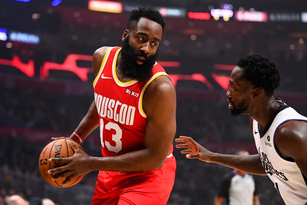 NFL DFS picks for DraftKings and FanDuel daily fantasy lineups for 1/4/21 based on expert ownership projections James Harden