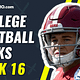 CFB Betting picks CFB best bets CFB DFS picks DraftKings