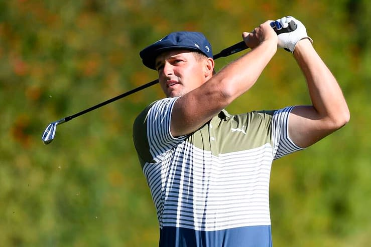 PGA golfer Bryson DeChambeau is now apologizing after being ridiculed over comments made about his Cobra driver following his first round