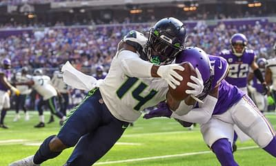 FanDuel NFL DFS Picks Week 7 Monday Night football cheat sheet Saints vs. Seahawks today tonight DK Metcalf optimal lineup optimizer free expert advice tips strategy rankings projections ownership best bets predictions parlays lines stacks showdown
