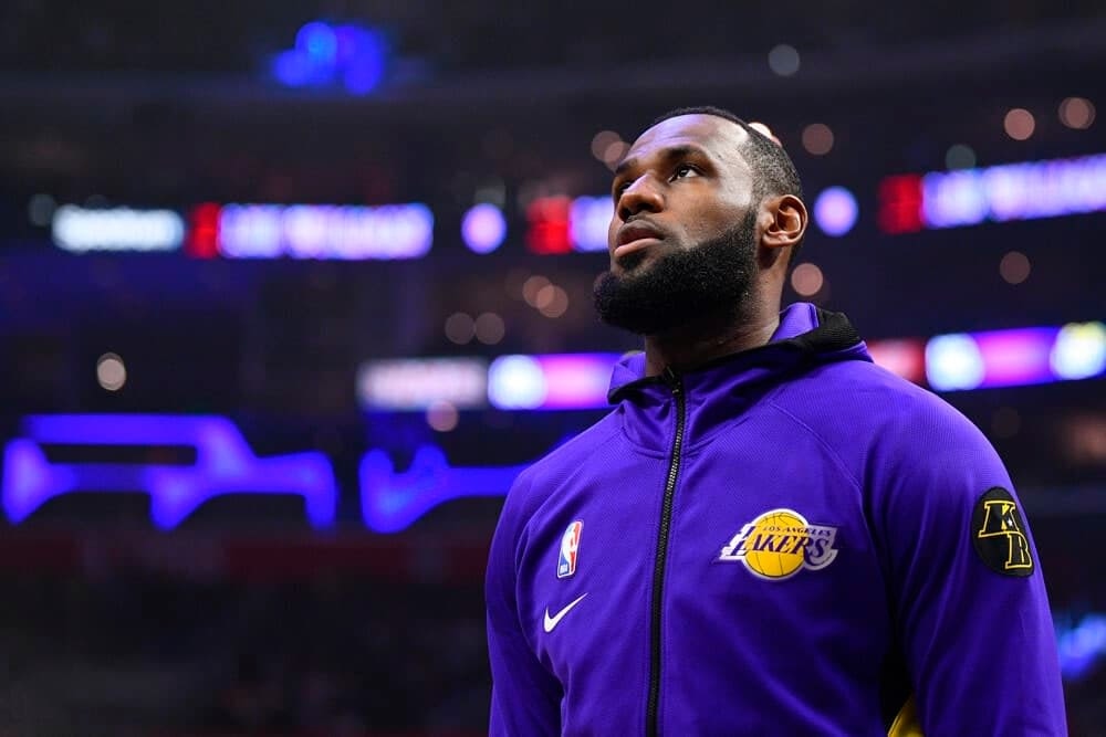 NBA Fantasy Projections for DraftKings and FanDuel DFS picks on Tuesday March 16 featuring LeBron James