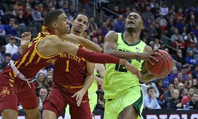 DraftKings CBB DFS Lineup Picks cheat sheet for Final Four games on Saturday April 3 with Jared Butler and Baylor