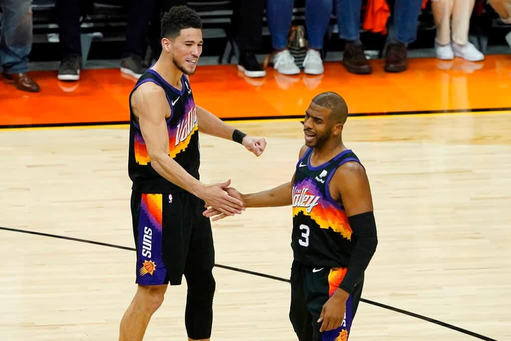 NBA FanDuel DFS daily fantasy basketball lineups. NBA Finals Game 6 cheat sheet. Awesemo's FREE picks, projections for 7/20   Devin Booker.