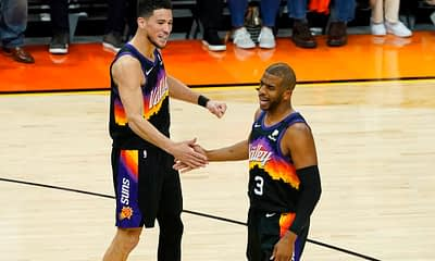 NBA FanDuel DFS daily fantasy basketball lineups. NBA Finals Game 6 cheat sheet. Awesemo's FREE picks, projections for 7/20 | Devin Booker.
