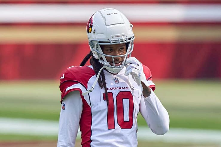 NFL Daily fantasy football DFS player prop betting picks best bets DraftKings FanDUel yahoo espn cbs DeAndre hopkins odds lines predictions parlays rankings projections optimal lineup optimizer ownership 2021