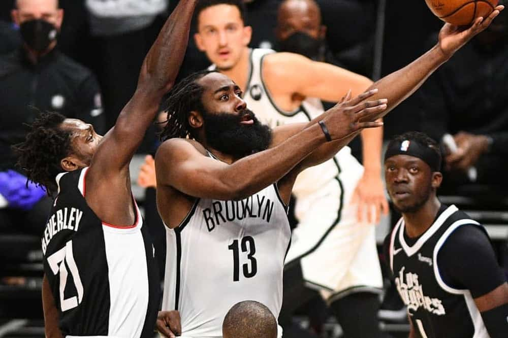 NBA FanDuel Lineup Pick DFS cheat sheet for single game daily fantasy basketball tournaments Round 2 Playoffs Bucks vs. Nets Game 1 with James Harden and Kevin Durant