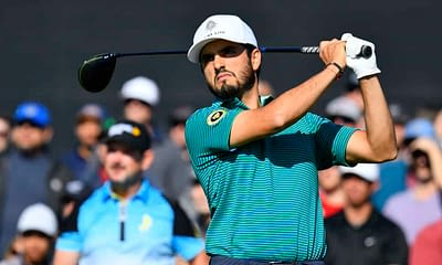 DraftKings PGA DFS picks RBC Heritage daily fantasy golf cheat sheet with Abraham Ancer based on Awesemo's expert projections and ownership
