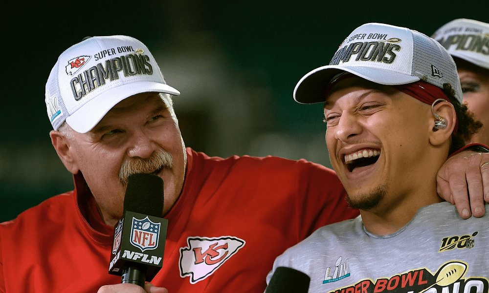 After welcoming his first child into the world recently, Patrick Mahomes has been asking coach Andy Reid to help him get better at changing diapers