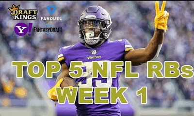 Chris Spags is back giving out some FREE NFL DFS Picks based on Awesemo's fantasy football rankings, including Dalvin Cook & Leonard Fournette