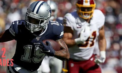 Chris Randone's NFL DFS Fantasy Football Likes & Dislikes for Week 3 on DraftKings, FanDuel, including Nelson Agholor and Aaron Jones.