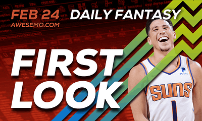FREE Awesemo YouTube NBA DFS picks & content for daily fantasy lineups on DraftKings + FanDuel with Devin Booker, Bradley Beal + more