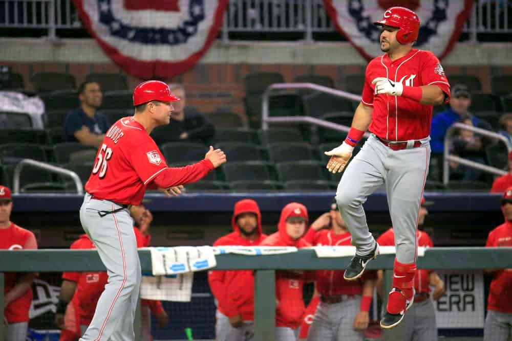 MLB DFS Picks & Stacks for Yahoo, DraftKings + FanDuel daily fantasy baseball lineups, including the Reds and Orioles | Friday 4/30/21