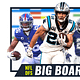 NFL DFS Big Board ranks the top plays for your DraftKings an FanDuel daily fantasy football lineups based on projections & ownership