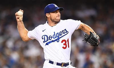 Shirtless Max Scherzer was out again after the Dodgers booked their ticket to the NLCS on Thursday, and he had an all-time quote