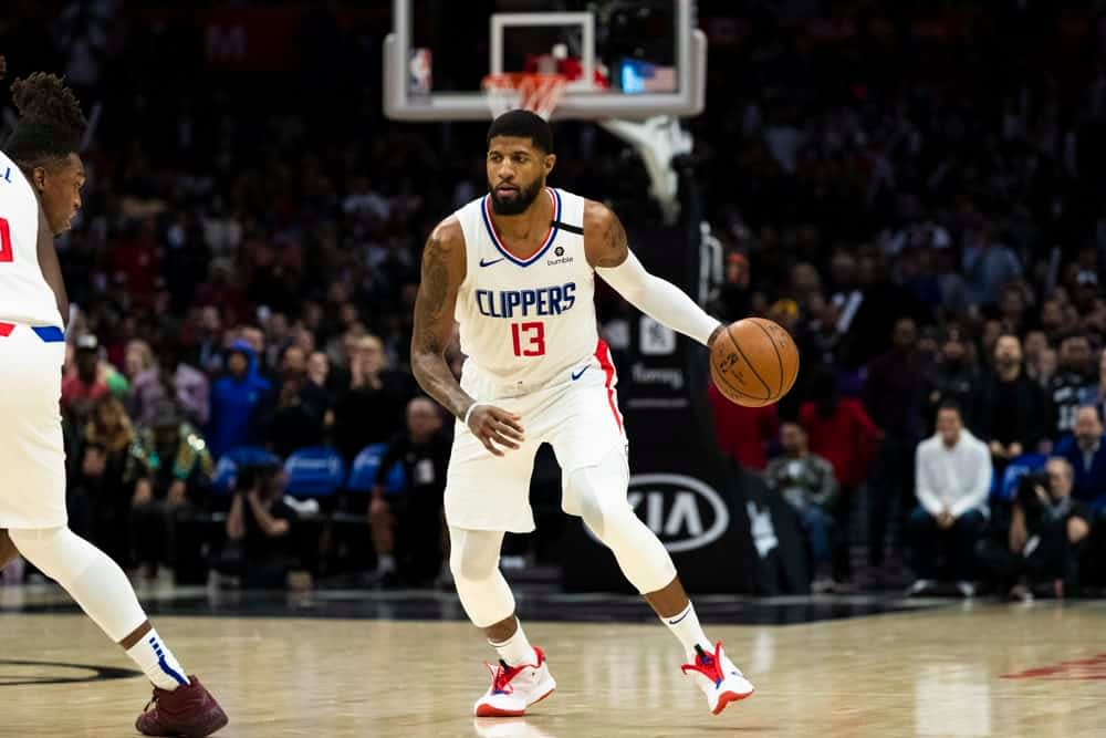 Our 8/14/20 Yahoo NBA DFS picks Cheatsheets has plays for daily fantasy basketball lineups on Friday, including Paul George.