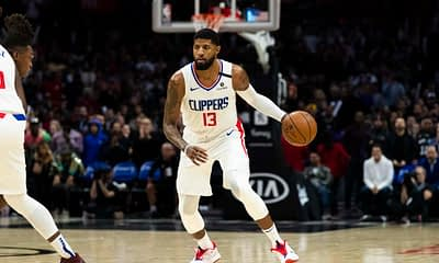 EMac gives his favorite NBA DFS picks for Yahoo, DraftKings + FanDuel daily fantasy basketball playoffs lineups, with Paul George | 6/26/21