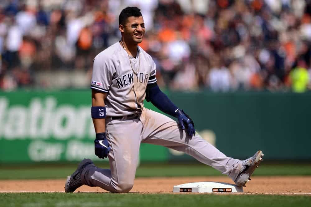 DraMLB DFS Picks: Free MLB picks + MLB DFS Stacks, hitters and strategy daily for each slate on DraftKings, FanDuel and Yahoo Fantasy | 9/12/20ftKings DFS MLB picks like Gleyber Torres for September 13 MLB DFS based on projections and ownership from the number 1 DFS player.