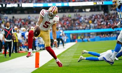 NFL DFS Week 5 Picks DraftKings FanDuel First look pricing salaries lineup construction building value plays cheap sleepers Trey Lance Trey Sermon optimal lineup optimizer projections rankings free expert advice tips cheat sheets Derrick Henry Odell Beckham Jr. Amari Cooper George Kittle millionaire maker milly maker
