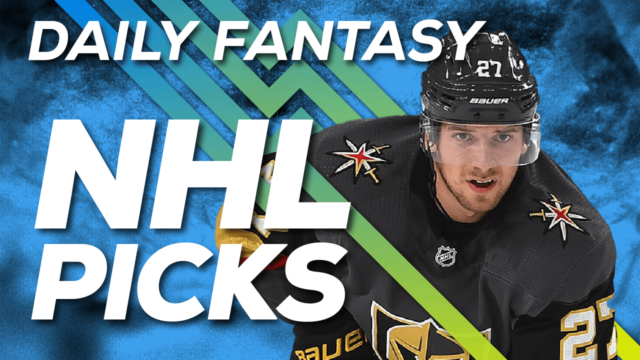 Jake Hari breaks downs NHL DFS Strategy for tonight's slate on DraftKings and FanDuel, Shea Theodore & more NHL picks!