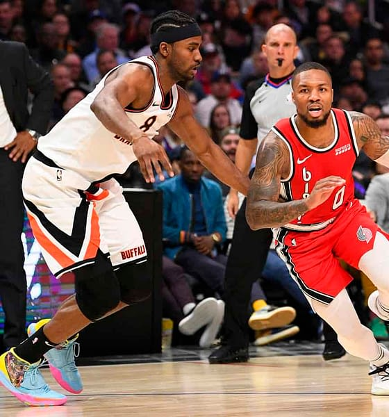 NBA Daily Fantasy Basketball projections DraftKings and FanDuel lineups for NBA DFS Monday January 25 2021 featuring Damian Lillard