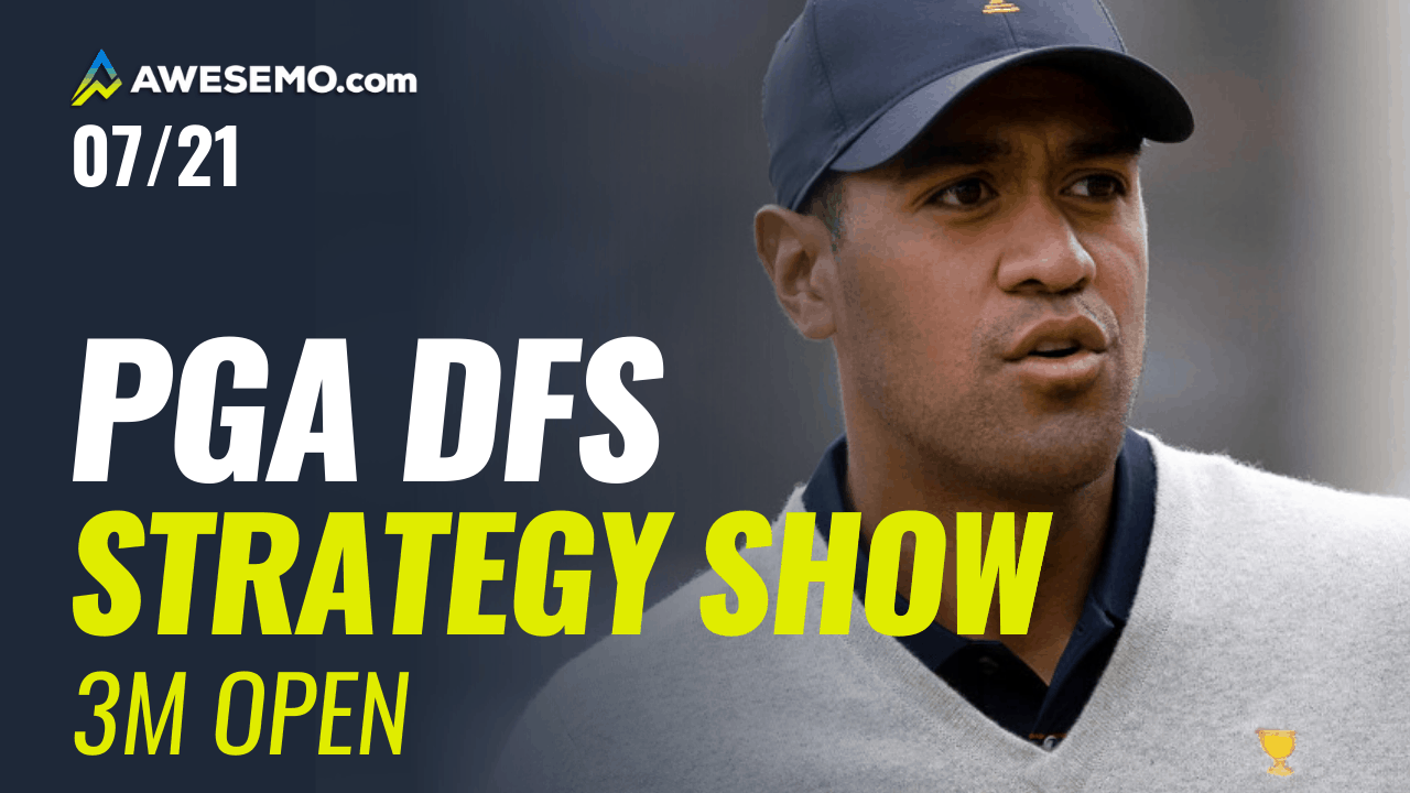 The PGA DFS Strategy Show with Ben Rasa and Tim Frank previews the 2020 3M Open with PGA DFS picks for DraftKings, FanDuel | Dustin Johnson + Tony Finau