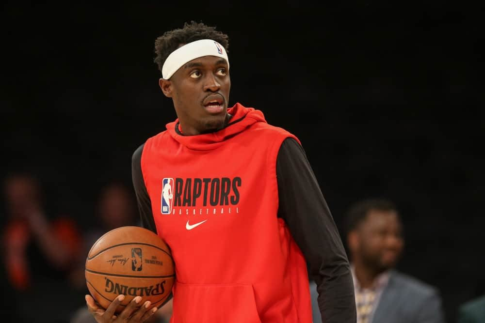 FanDuel NBA Lineup Picks for daily fantasy basketball with Pascal Siakam based on Josh Engleman's expert projections, simulations and model for April 8
