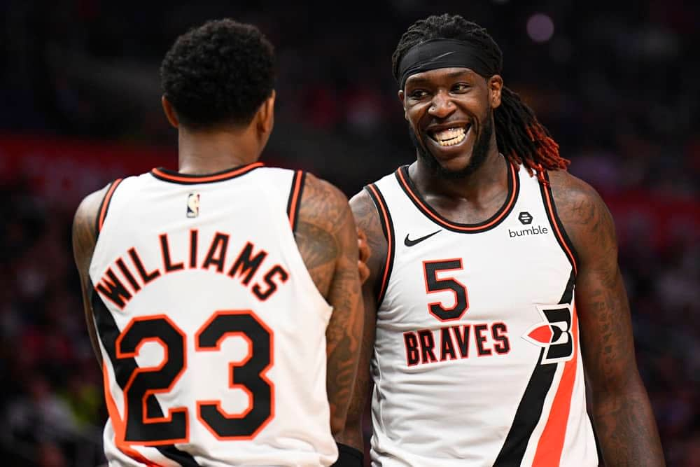 FREE NBA DFS Picks for daily fantasy baskeball lineups on Draftkings & FanDuel for 1/22 featuring Lou Williams, Montrezl Harrell + more