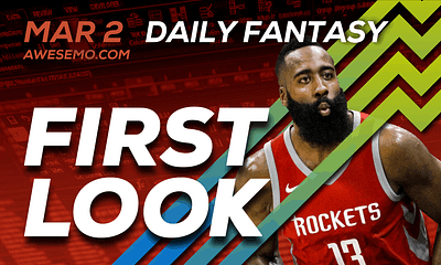 FREE Awesemo YouTube NBA DFS picks & content for daily fantasy lineups on DraftKings + FanDuel with James Harden, Giannis Antetokounmpo + more