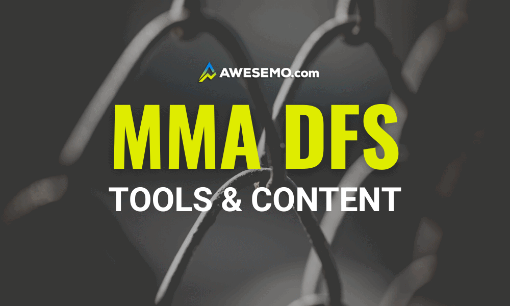 UFC DFS Picks MMA DraftKings FanDuel daily fantasy lineups with expert tools, data, projections, articles, podcasts and free content for UFC 260: Miocic vs. Ngannou 2