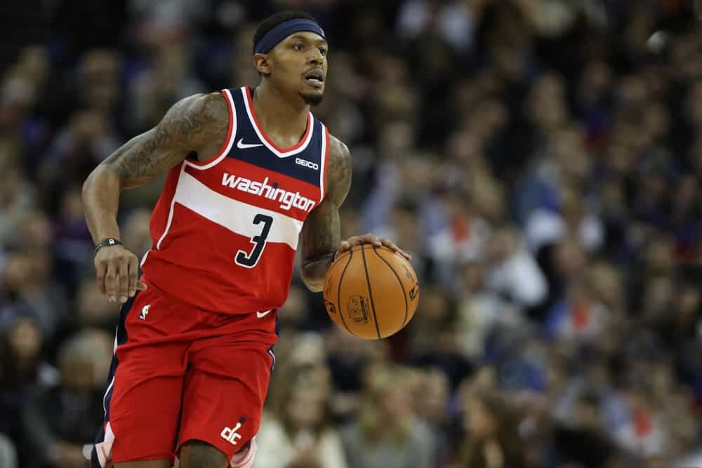 DraftKings & FanDuel NBA Fantasy Projections for DFS lineups on Saturday April 17 with Bradley Beal as a boom candidate