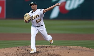 Yahoo DFS MLB picks like Sean Manaea for September 21 MLB DFS based on projections and ownership from the number 1 DFS player.