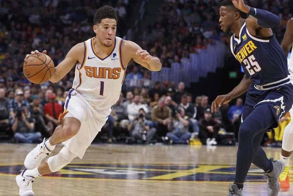 NBA DraftKings Lineup PIcks Top 5 rankings daily fantasy basketball tonight wednesday june 9 2021 based on Josh Engleman's expert projections simulations and ownership with Devin Booker