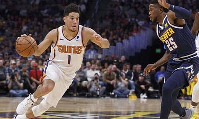 EMac gives his favorite NBA DFS picks for Yahoo + DraftKings + FanDuel daily fantasy basketball lineups Devin Booker | Thursday 4/15/21