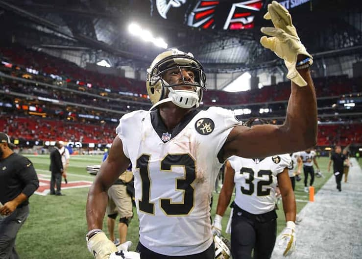 Awesemo's Jake Hari breaks down some NFL DFS Strategy & DraftKings and FanDuel eNFL Picks for 4/13/20, including Drew Brees & Michael Thomas.