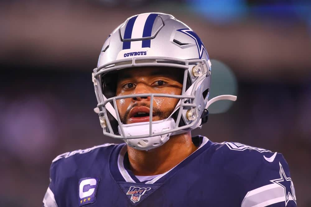 Free No House Advantage picks and props for Eagles vs. Cowboys Week 3 Monday Night Football using expert projections & rankings.