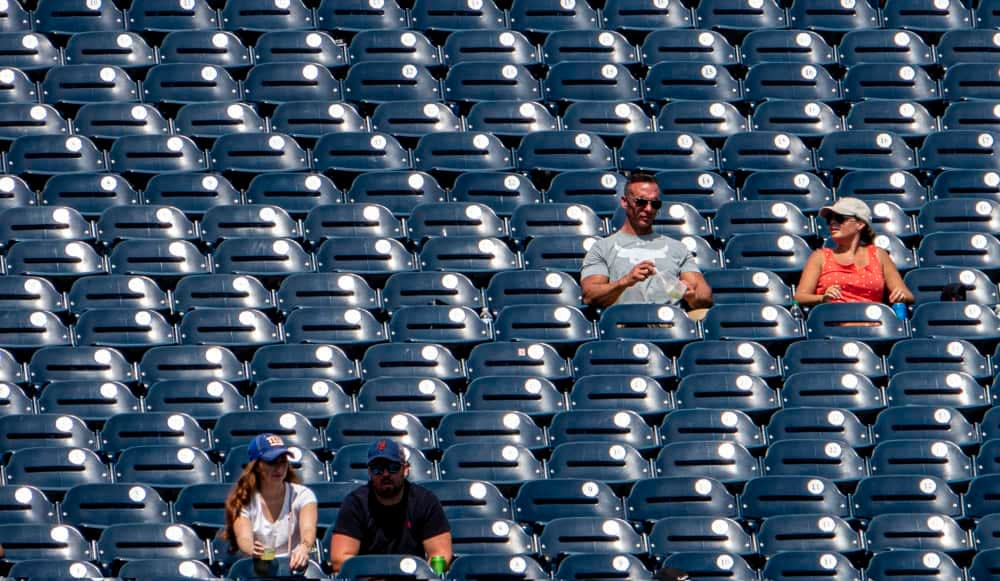 With how everything the Mets touch turns to crap, their fan cutouts for the 2020 MLB season might be the worst value in sports ever.