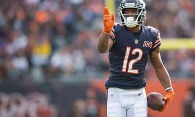 Free DraftKings NFL DFS Picks Week 1 Sunday Night Football cheat sheet for Bears vs. Rams using expert DFS projections, rankings & ownership