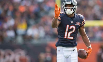 NFL DFS Picks for the Week 17 Yahoo Cheat Sheet based on expert daily fantasy football ownership projections featuring Allen Robinson