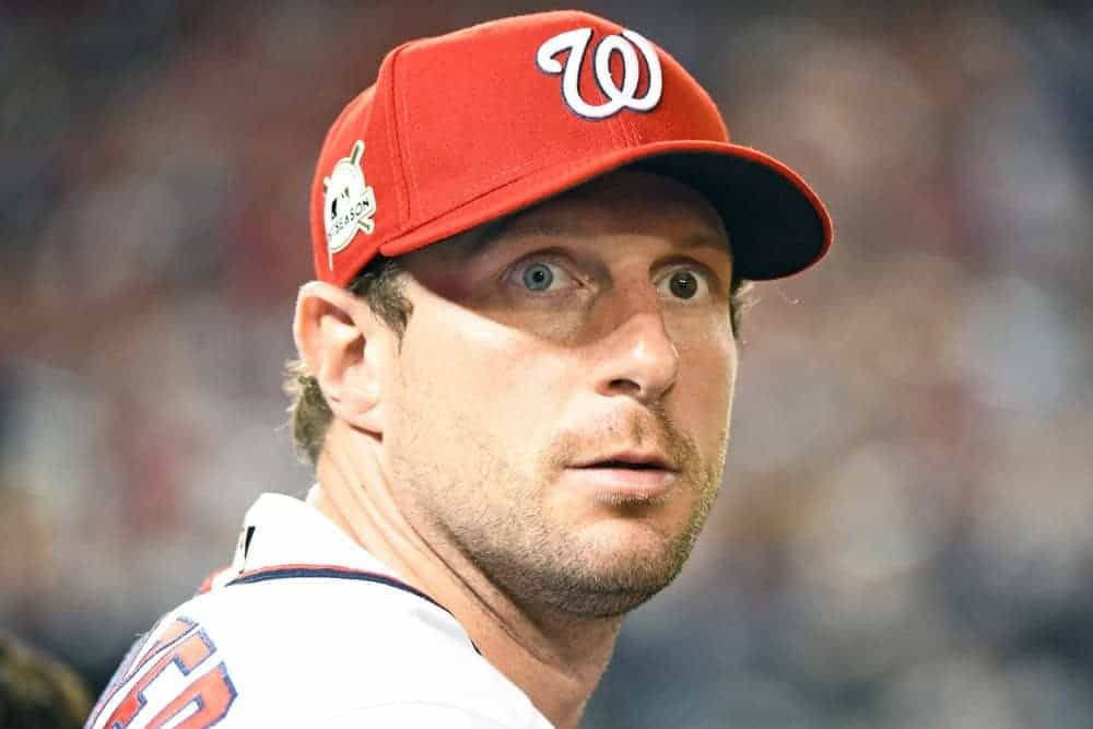 Our Spotlight Pitchers article gives out top MLB DFS picks for Opening Day DraftKings + FanDuel lineups. Max Scherzer or Clayton Kersahw?