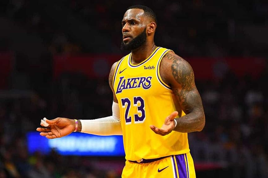 Los Angeles Lakers star LeBron James took to social media to share him unfiltered response to the news that Jared Dudley was leaving the team to start coaching