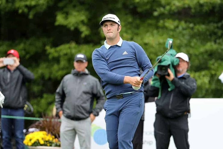 DraftKings & FanDUel PGA DFS picks for Zurich Classic daily fantasy golf lineups and preview featuring Jon Rahm
