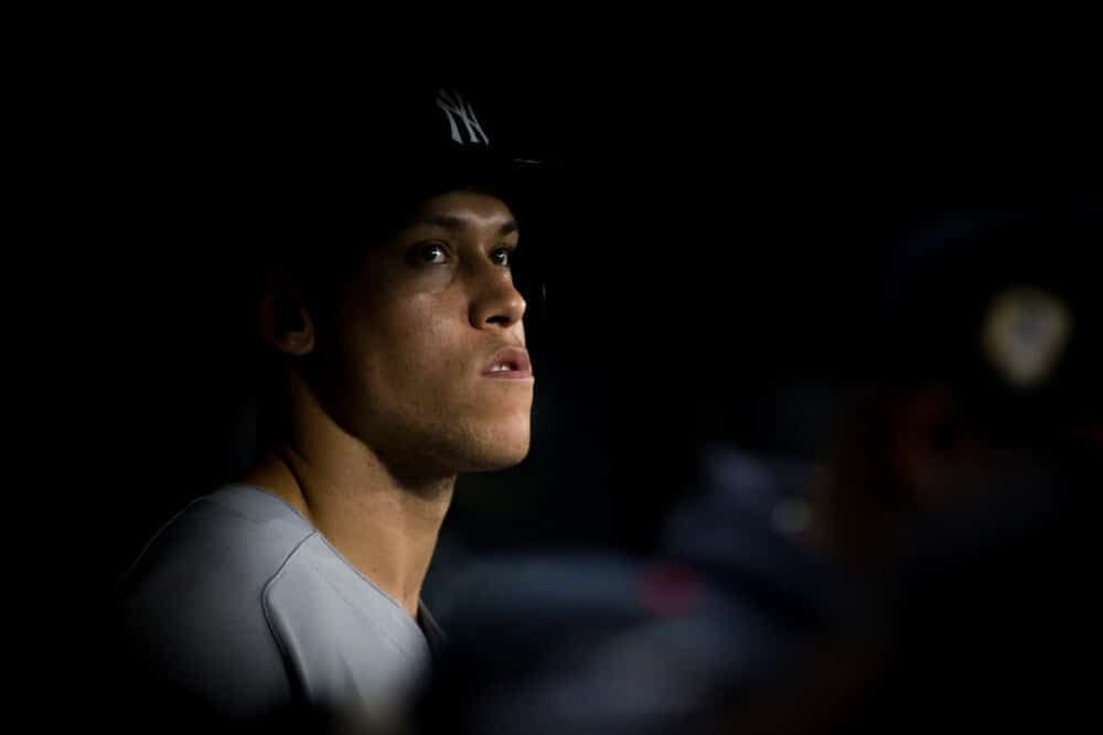 Daily fantasy baseball advice. MLB DFS picks and strategy on Live Before Lock. DraftKings and FanDuel advice for 9/9 with Aaron Judge.