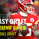 "Fantasy Football Draft: No. 1 DFS player in the world Alex ""Awesemo"" Baker goes live to do a DraftKings Best Ball draft 