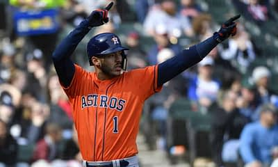 MLB DFS picks. Daily fantasy baseball strategy show for DraftKings and FanDuel lineups. FREE expert projections for 7/31 with Carlos Correa.