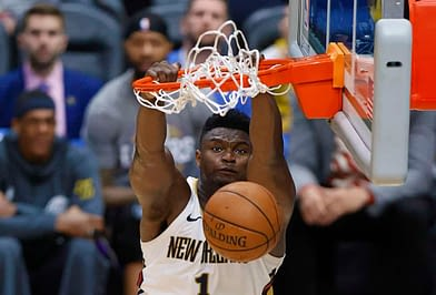 NBA Betting Picks and odds for Tuesday night's Pelicans vs Jazz game with Zion Williamson