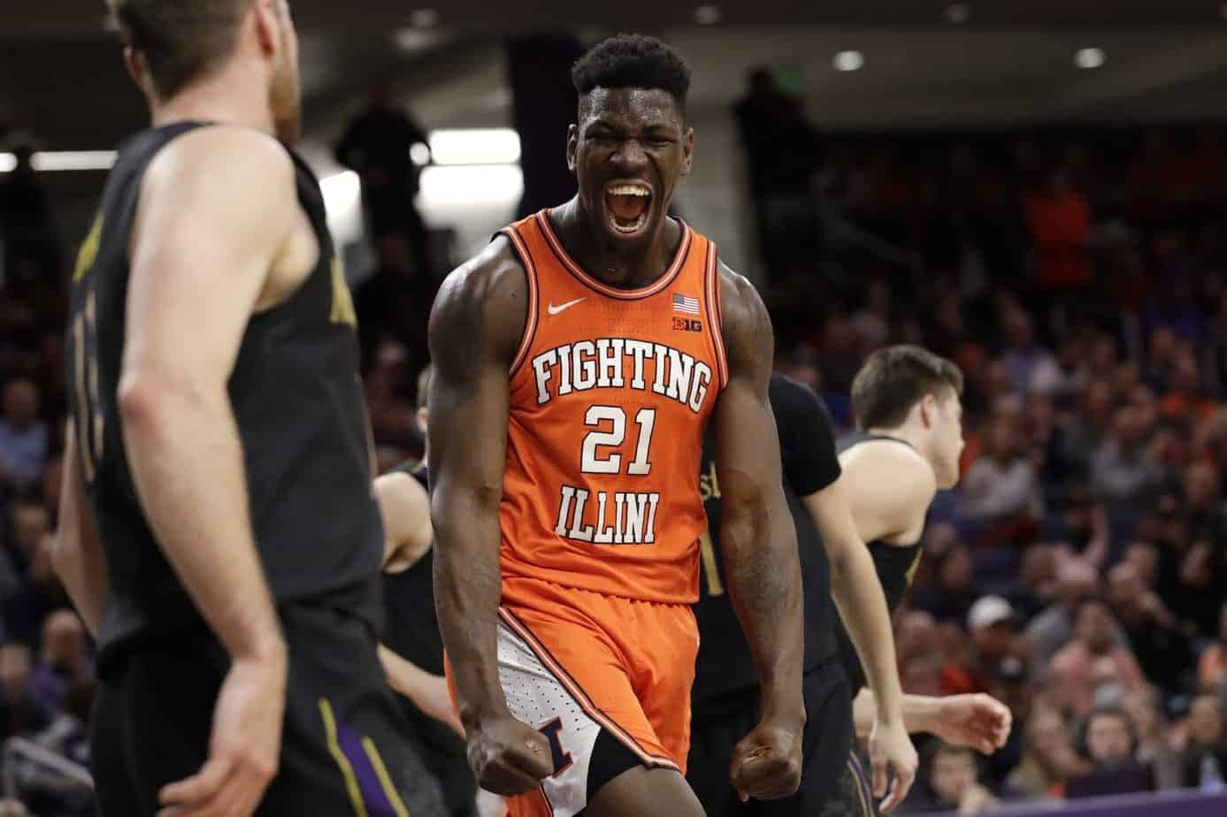 Illinois star center will reportedly be announcing his plans to return to Illinois for one more season sometime today